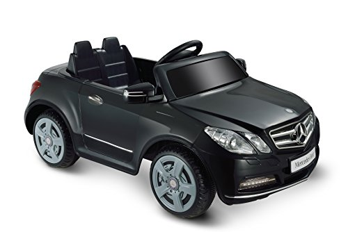 (Kid Motorz 6V Mercedes Benz E550 One Seater Ride On, Black)