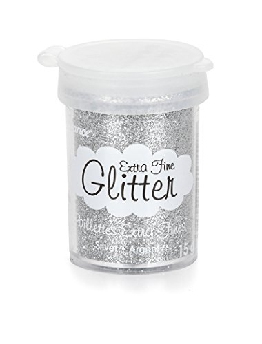 Darice Extra Fine Glitter Silver