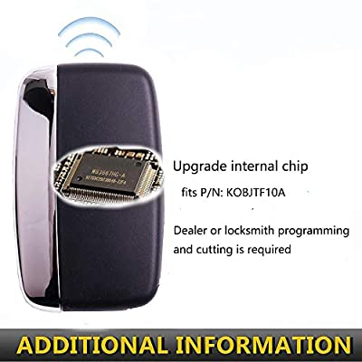 Key Fob Compatible with 2012 2013 2014 2015 2016 2020 Range Rover Sport Evoque Land Rover LR2 LR4, Chip included: Automotive