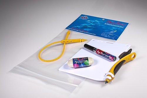 Aqua Bleistift & Slate Underwater Kit – Orange von Xit 404
