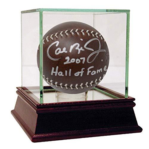 Cal Ripken Jr. Autographed Signed Lemon Baseball With 2007 Hall Of Fame Insc L/E 8 -