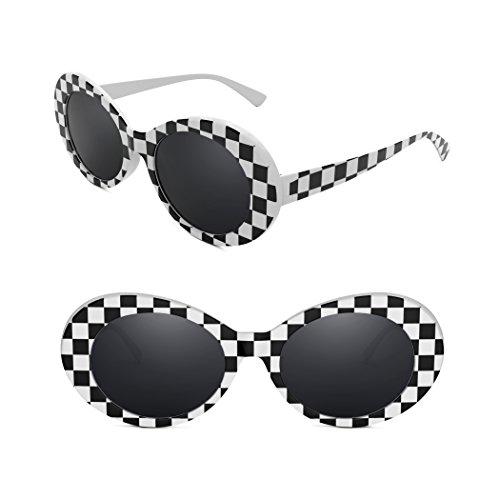 fbd4c66892 Jual Davachi Clout Goggles Set Kurt Cobain Oval Sunglasses White ...