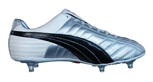 Puma Mestre SG Hombre Botas de fútbol Silver