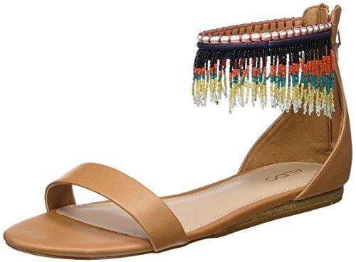 Aldo Women's Larysa Ankle Strap Sandals Brown (Cognac) JyGFR1qOSF