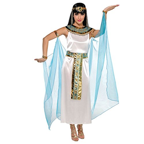 Amscan Womens Cleopatra the Queen Egyptian Halloween Costume- Size Large (10-12)
