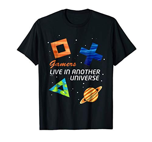 Gamers PC PS CONSOLE Controller T-shirt