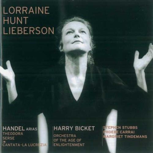 Lorraine Hunt Lieberson - Handel Arias by Avie