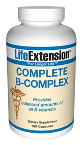 Life Extension, COMPLETE B COMPLEX 180 CAPSULES ( Multi-Pack)