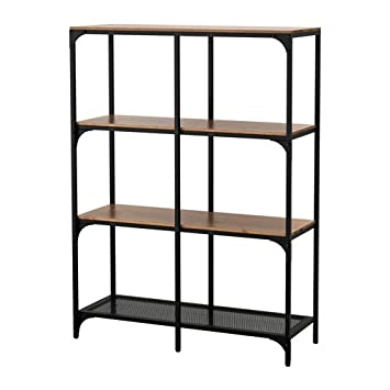 Incredible Amazon Com Ikea Fjallbo Shelf Unit Black Kitchen Dining Download Free Architecture Designs Scobabritishbridgeorg