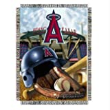 "MLB Los Angeles Angels Home Field Advantage Woven Tapestry Throw, 48"" x 60"""