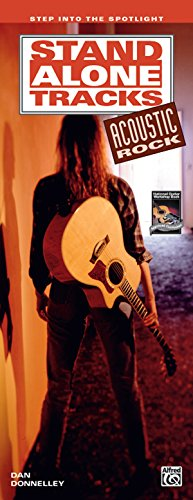 Stand Alone Tracks -- Acoustic Rock: Step into the Spotlight (Handy Guide), Book & CD