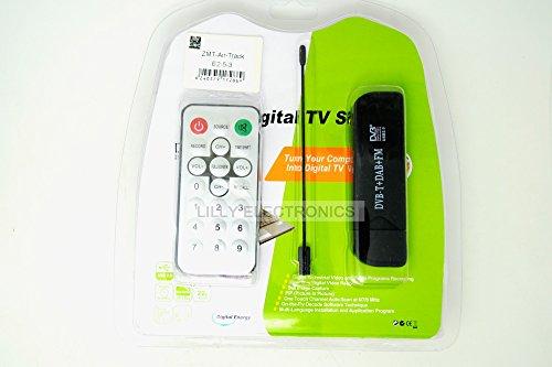 Mini Digital Tv Tunner Receiver Sticks Dvb-t+dab+fm USB Dvb-t R820t+2832u SDR GPS w/ Antennan for Aircraft Tracking (Electronic Tunner compare prices)