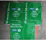 2008 Ford, Mercury / Taurus, Taurus X, Sable Workshop Manual (2 Volume Set)