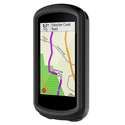 MOTONG Garmin EDGE 1030 Case - MOTONG Silicone Protective Case For Garmin EDGE 1030(Silicone Black)