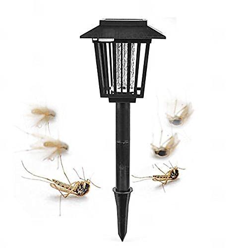 Solar Mosquito Zapper / Garden Light / Jardín lámpara / Exterminador de insectos