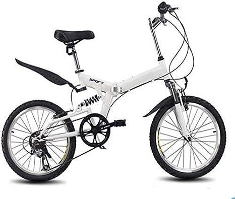 YUHT Bicicleta de montaña, Bicicleta Plegable de 20 Pulgadas ...