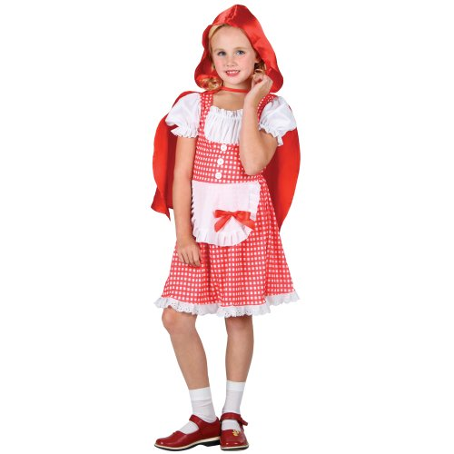 [Children's Kids Girls S Storybook Red Riding Hood Outfit Costume for Fairytale F] (Storybook Fairytale Costumes)