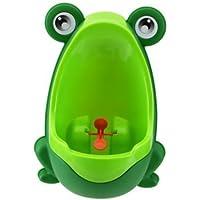 Hosaire 1X Amusant Pot Enfant Bébé urinoir en forme de Grenouille Vert/Orange/Brun