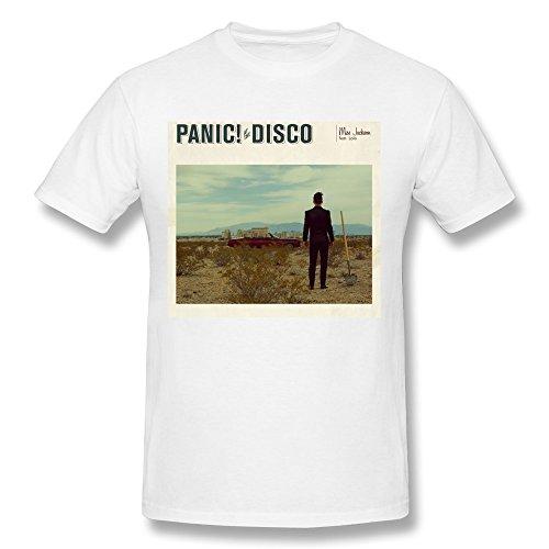 (Men's Panic At The Disco Miss Jackson T-Shirt White)