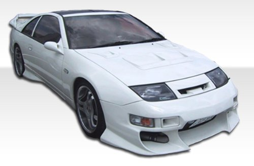1990-1996 Nissan 300ZX Duraflex Demon Body Kit - 4 Piece - Includes Demon Front Bumper (100975) Demon Rear Add Ons (100973) Demon Side Skirt Add Ons - 2 Piece (100974)