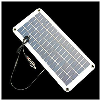TOOGOO(R) Semi-flexible 18V/5V 10.5W Portable Solar Panel Charger For 12V Car Boat Motor Battery Charger DIY Solar System NEW by TOOGOO(R) (Image #1)