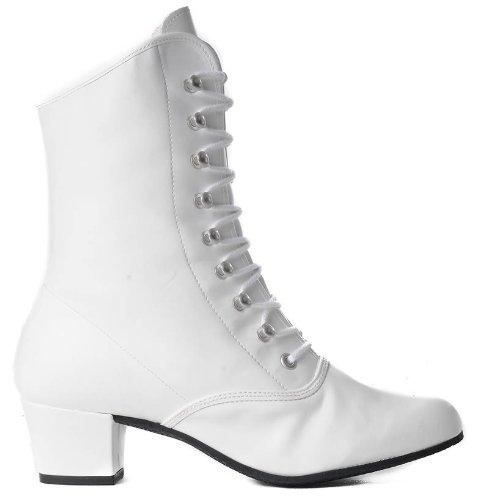 Uomini Koch Sintetico Bianco In Colore Stivali Carnevale Can Materiale vTqTd