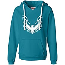 Go All Out Screenprinting Womens Pontiac Firebird Logo GTA Trans-Am Retro Deluxe Soft Hoodie