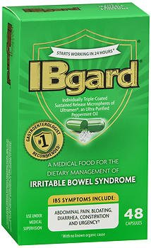 IBgard Irritable Bowel Syndrome Capsules - 48 ct, Pack of 3 by IBgard