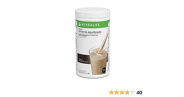 Batido Fórmula 1 550g - (Cookies & Cream) | Herbalife