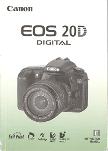 Canon eos digital software instructions manual (compatible models.