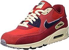 huge inventory fea53 3c4f8 Nike Men s Air Max 90 Premium SE Running Shoe 10.5 Red