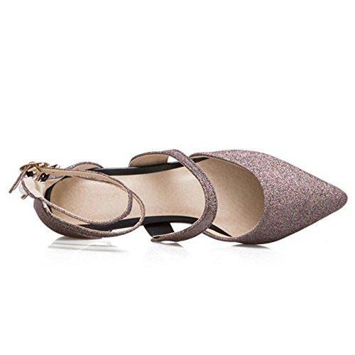 Sandali Purple Flat Zanpa Donne Mode Dark twgt6pUAq