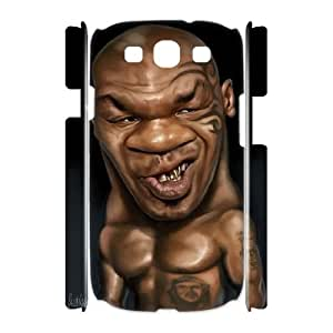 Hjqi - DIY Mike Tyson 3D Plastic Case, Mike Tyson Unique Hard Case for Samsung Galaxy S3 I9300