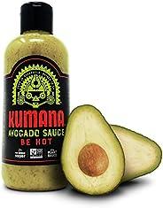 Kumana Avocado Hot Sauce. A Keto Friendly Hot Sauce made with Ripe Avocados, Mango and Habanero Peppers. Ketogenic & Paleo.