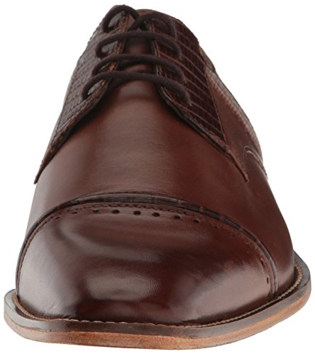 Stacy Adams Men's Ryland Cap-Toe Oxford Cognac clearance professional cheap amazon 0Ku14