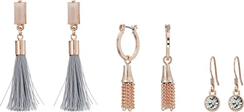 Guess Love Struck Women's 9 On Earrings Multi, Rose Gold, One Size