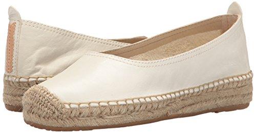Dolce Vita cuero Taya Ballet de Plano Leather White Mujer Blanco Off OwWOBqRrnx