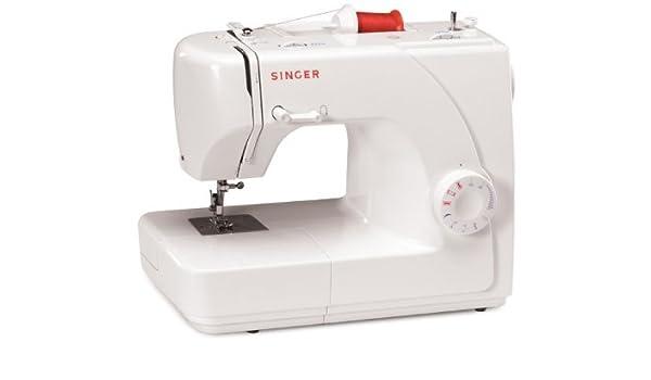 SINGER 1507WC - Máquina de coser (Máquina de coser automática, Blanco, Costura, Paso 4, Variable, Eléctrico): Amazon.es: Hogar