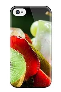 High Grade ZippyDoritEduard Flexible Tpu Case For Iphone 4/4s - Fruit