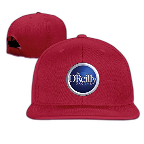 k-fly2-adjustable-the-oreilly-factor-baseball-caps-hat-unisex-red