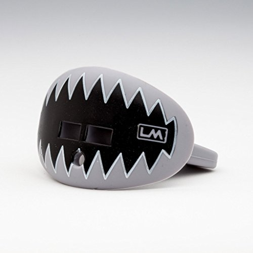 LOUDMOUTHGUARDS Pacifier Lip Protector Mouthguard, Raider Light Grey