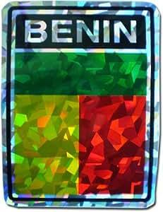 "Benin–3""x 4"" reflectante adhesivo"