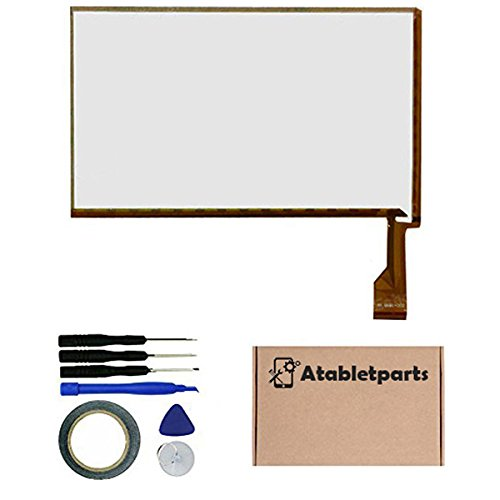 Atabletparts Replacement Touch Screen Digitizer for Ematic Kids Funtab 7 inch Tablet Model FTABC by Atabletparts