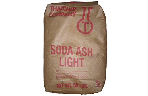 Carbonate Light - Sodium Carbonate Light Soda Ash [Na2CO3] [CAS_497-19-8] 99.2+%, White Solid (50 Lb Bag) by Wintersun Chemical