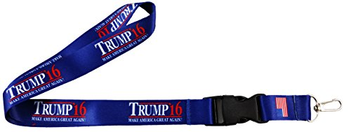 Donald-Trump-For-President-2016-Lanyard-Keychain-Holder-Double-Sided-Neck-Strap-Cell-Phone-ID