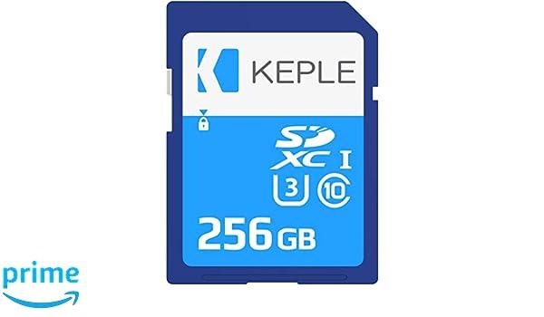 256GB SD Tarjeta de Memoria Compatible con Canon IXUS 130 ...