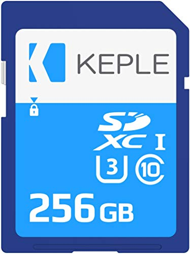 256GB SD Card Class 10 Memory Card Compatible with Canon EOS Rebel SL1, Rebel SL2, Rebel T3, Rebel T5, Rebel T6, Rebel T7i, Rebel T6i, Rebel T6s, Rebel T100, Rebel T7 | Camera UHS-3 U3 SDXC 256 GB