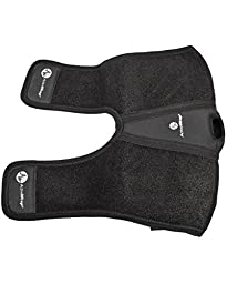 ActiveWrap Elbow Hot / Cold Therapy Wrap - Great For Sprained Elbows, Tendonitis, Arthritis, and Other Elbow Injuries - Hot / Cold Gel Packs Included