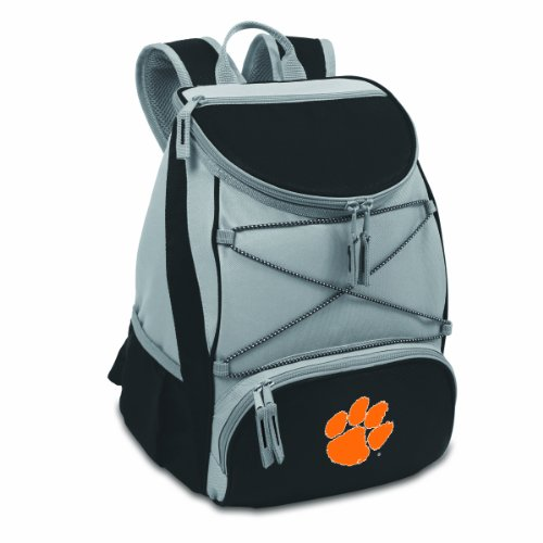 PICNIC TIME NCAA Clemson Tigers PTX Insulated Backpack Cooler, Black