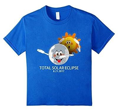 Moon Dabbing Sun - Total Solar Eclipse Funny Parody T-Shirt